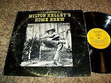 RARE Private Press Downer Folk Psych Milton Kelley Home Brew TWO DOT LP!
