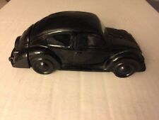 Vintage Avon Black Volkswagon Decanter Vw Bug no box