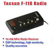 Tecsun F-110 DSP Mini Radio FM 76 -108 MHz Full Function DSP Digital Portable