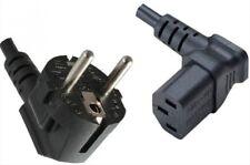 Kaltgeräte-Kabel [Schuko-Stecker gewinkelt - C13-Buchse oben gewinkelt]  1,8m sc
