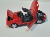Maisto Alfa Romeo Spider 1/18 Scale Diecast (Red)