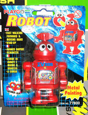 Vintage TIN LITHO ROBOT Wind up TOY Mint Condition FACTORY SEALED