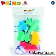 PRIMO-Morocolor Set 5 Spugne per Dipingere e Colorare Sponge World - Mezzi