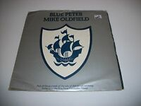 "MIKE OLDFIELD- BLUE PETER VINYL 7"" 45RPM  PS"