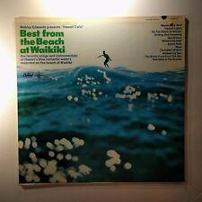 "Vinyl Record  Webley Edwards Hawaii Calls"" Best From The Beach At Waikiki T2573"