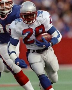 CURTIS MARTIN 8X10 PHOTO NEW ENGLAND PATRIOTS PICTURE NFL FOOTBALL ACTION