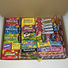 American Sweets/Candy Gift Box  - Mike&Ike - AirHeads - Jolly Ranchers - Nerds