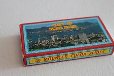 Vintage 1960's Hong Kong 20 Mounted Color Slides Of People From Hong Kong View