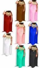 Lycra Long Cape Sleeve Prom Moroccan Party Wear African Attire Ethnic For Women