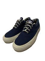 Converse Vintage USA Blue Canvas Shoes Mens Size 11