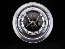 1953 BUICK VINTAGE HUBCAP CLOCK - SHOP GARAGE MAN CAVE REC ROOM GIFT !