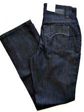 MAC MELANIE Jacob schwarz black denim Stretch straight fit Gr.34 L30  NEU