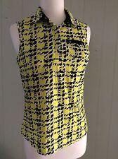 DKNYGOLF byJamie Sadock Womens Golf Top Sz M Multicolor  Poly Spandex EUC