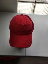 Ashworth Blackhawk Cap One Size Fits All (Red)
