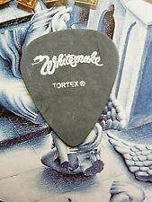 WHITESNAKE Reb Beach 2003 Rock Never Stops Tour alternate logo black guitar pick