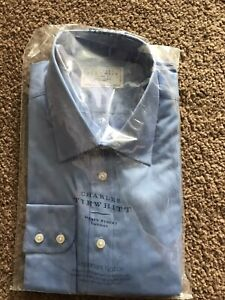 Charles Tyrwhitt Shirt Size 17.5 Collar