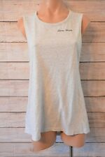 LORNA JANE Top Blouse Sz large 14 16 grey tunic tank top active wear