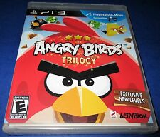Angry Birds Trilogy Sony PlayStation 3 *Factory Sealed! *Free Shipping!