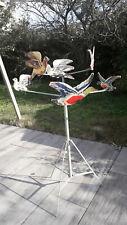 Tir aux pigeons  Eureka -  jouet  vintage à restaurer   - 6 pigeons