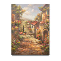 NY Art - Tuscany Township 36x48 Impressionist Oil Painting on Canvas - On Sale!!