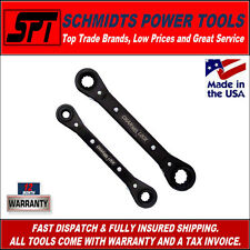 CHANNELLOCK 841M RATCHETING METRIC WRENCH SET - NEW 4 IN 1 TOOL DESIGN - SPANNER