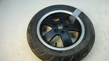 2006 Vespa GTS 300 ie Piaggio S557. rear wheel rim 12in