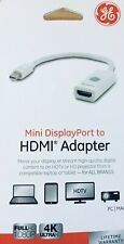 GE MINI DISPLAY PORT TO HDMI ADAPTER -SEE PICTURE