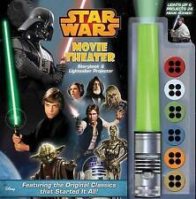 Star Wars Movie Theater Storybook & Lightsaber Projector, Fully Working Like New