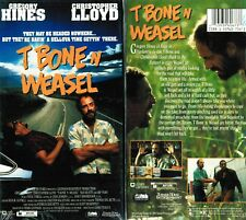 T Bone And Weasel VHS Video Tape New Gregory Hines Christopher Lloyd L .Teague