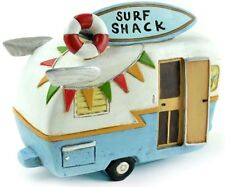 Surf Shack Camper 1pc MI 55874 Miniature Fairy Garden Dollhouse Beach Tropical