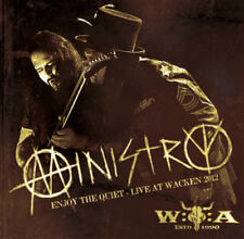 Ministry : Enjoy the Quiet: Live at Wacken 2012 CD (2013) ***NEW***
