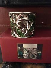 Lenox Votive - Holiday Nouveau Holly/ Nib / New in Box