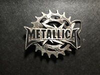 METALLICA BELT BUCKLE!    DD489TNN