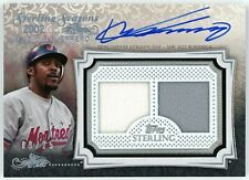 New listing 2020 Topps Sterling VLADIMIR GUERRERO Game Used Dual Patch AUTO #'d 9/25 Expos