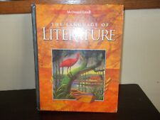 The Language of Literature by  McDougal Littell Hard Cover copyright 2000