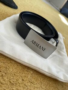 Boys Armani Junior Leather Belt