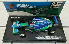 Minichamps 1/43 Mick Schumacher Benetton B194 F1 Belgian GP 25th anniversary