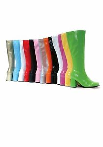 Ellie Shoes GOGO 3 Inch Gogo Boots Women's Size Shoe With Zipper