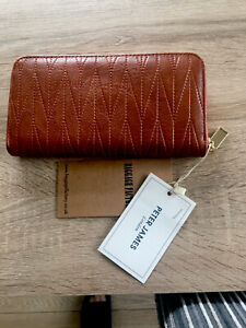 Womens Tan Purse by Peter James London brand new with  tags
