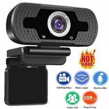 Webcam 1080P Hd Web Camera Usb Microphone For Pc Laptop Desktop Video Recording