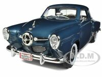 1950 STUDEBAKER CHAMPION BLUE 1/18 DIECAST MODEL CAR BY ROAD SIGNATURE 92478