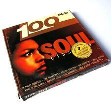 100 Soul Classics Selected EU 5xCD Box Set #0907D
