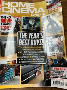 Home Cinema Choice January 2019 Hi-Fi Amps TVs, Tech Etc Magazine