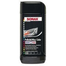 SONAX Polish & Wax Colore Nano Pro lucidatrice auto di colore nero