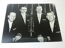 The Vigortones Quartet Original Photo 1961 ACSC Award Winner 16X20 B&W