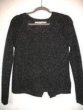 RACHEL RACHEL ROY Long Sleeve Metallic Sweater, Size XS