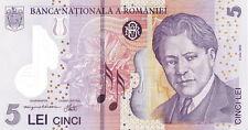 Rumänien / Romania 5 Lei (20)06 Pick 118 (1) Polymer