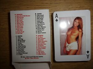 The Sun Page 3 playing cards 52+2 lovely ladies new and sealed. Poker,snap,Rummy