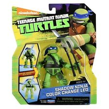 GIOCHI PREZIOSI TEENAGE MUTANT NINJA TURTLES COLOR CHANGE LEO FIGURE NEW