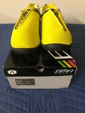 """BMA 'BMESH"""" NEON MARTIAL ARTS SHOES YELLOW SIZE 9.5"""